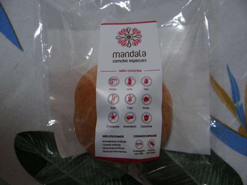 Loja de produtos sem glúten congelados - Mandala -pão tomate