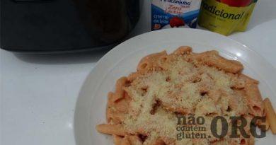Panela Arroz – Macarrão Cremoso – Sem gluten e Sem lactose