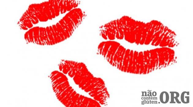 Beijo na boca e contaminação cruzada por glúten. Paranoia ou Realidade? Não Contém Glúten