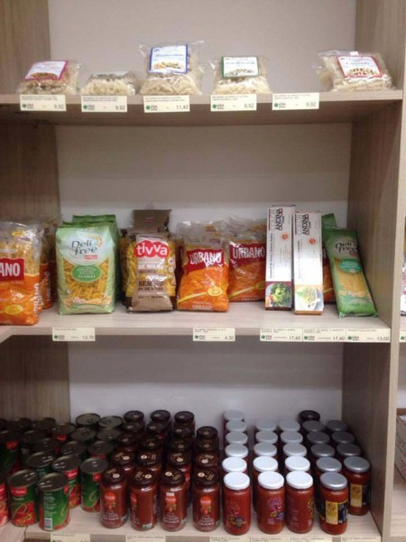 Loja de produtos sem glúten na Granja Viana/SP (ZO) - Vida Natural - macarrão sem glúten. NCG.org
