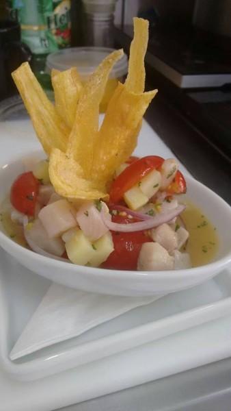 Ceviche sem glúten - Free Fish