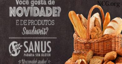 Padaria sem gluten e sem lactose em Goiânia (GO) Sanus