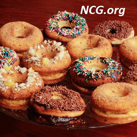 Donuts sem gluten - Pães sem gluten com café - Padaria sem gluten e sem lactose em Goiânia (GO) Sanus - NaoContemGluten.ORG