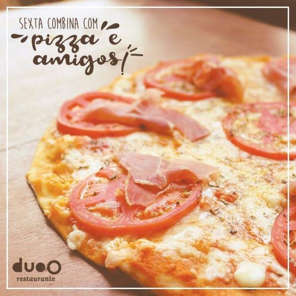 duoO Pizza sem glúten e sem lactose