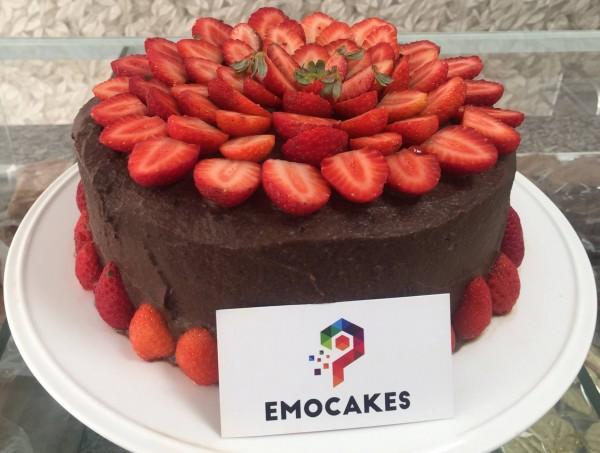 Emocakes Bolo de chocolate sem glúten