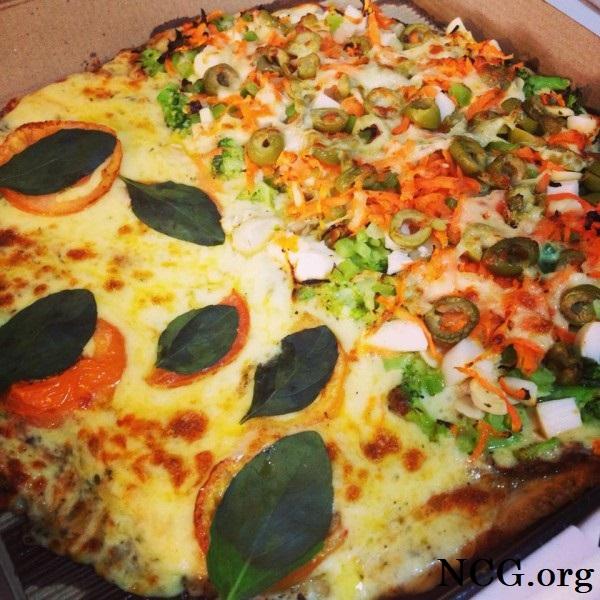 Pizza meio a meio sem gluten - Pizzaria sem gluten em Porto Alegre (RS) Pizza Jack - Não Contém Gluten
