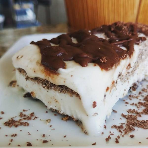 Semente da Saúde Torta de Sorvete de Noz Macadâmia com Coco sem glúten