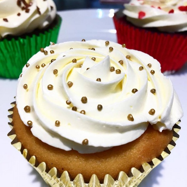 Colher de Mel Cupcakes sem glúten