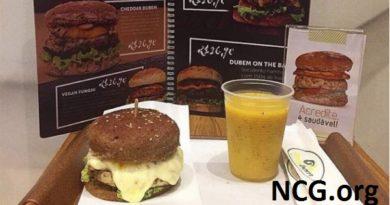 Restaurante sem glúten em Rio de Janeiro (RJ) - Sandubem - Hambúrguer não contém glúten. NCG.org