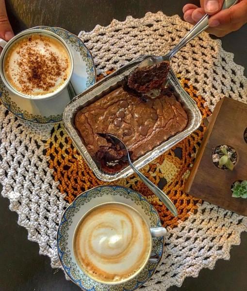 SEM CULPA Brownie com café sem glúten e lactose