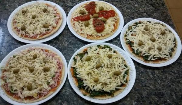 Cláudia Finos Sabores Pizzas sem glúten