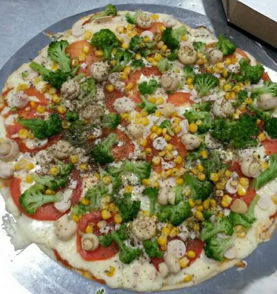 Pizza Artesanal Pizza sem glúten e lactose