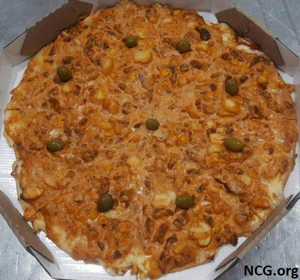 Pizza de frango sem gluten e sem lactose - Pizzaria sem gluten e lactose em Paraná (PR) Pizzaria Artesanal - Não Contém Gluten