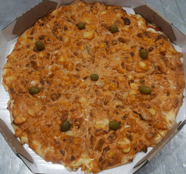 Pizza Artesanal Pizza frango sem glúten e lactose