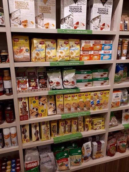 Loja Mundo Verde em Aeroporto de Cumbica, Guarulhos/SP biscoitos sem glúten