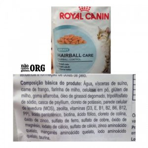 Ração sem glúten Royal Canin hairball care