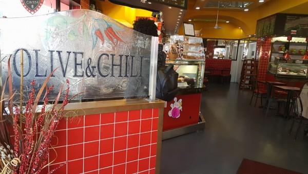 Olive & Chili restaurante sem glúten em Ottawa / Canadá