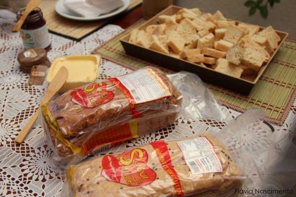 NCG - Sabor DE Saúde: Pães de patê sem glúten / leite. Não contém glúten