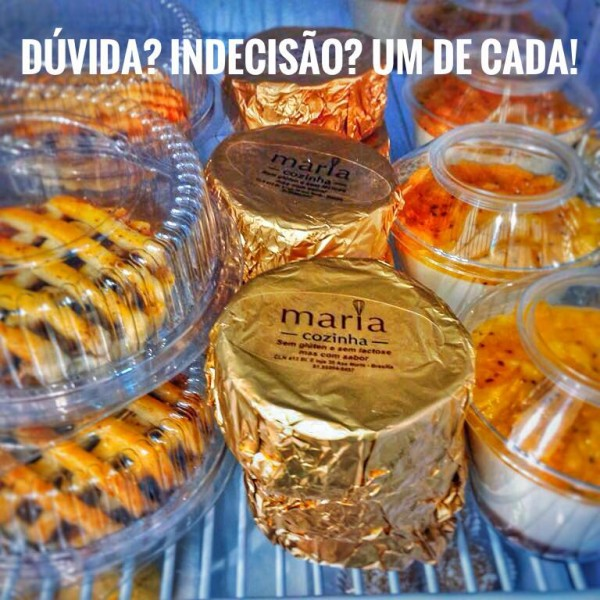 Maria Cozinha Sobremesas sem glúten