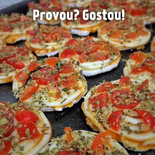Maria Cozinha Mini pizzas sem glúten