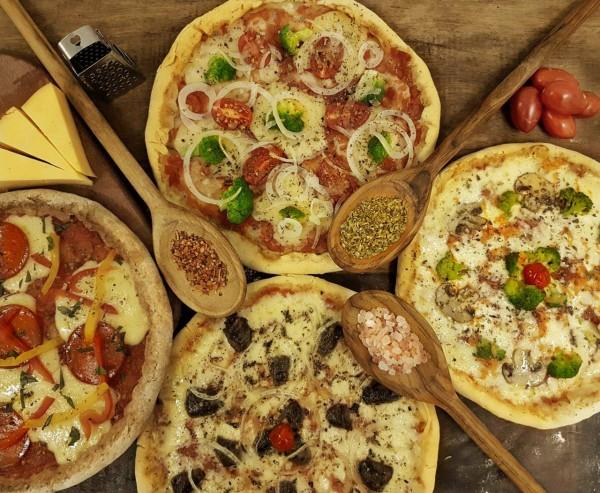 Pizzas sem glúten vários sabores Massas.com