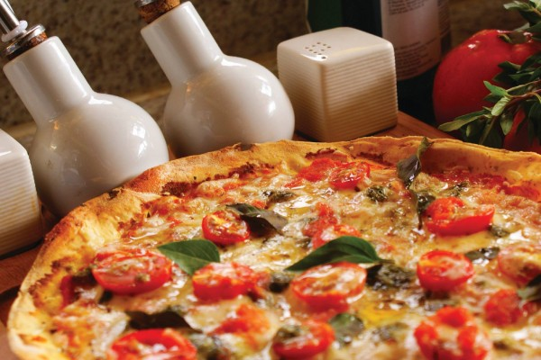 Pinoli Pizza marguerita sem glúten