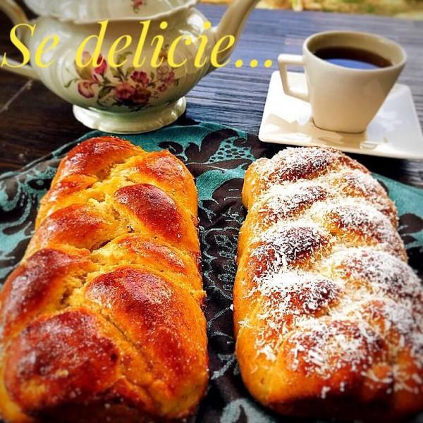 Maria Cozinha Café com roscas de côco sem glúten e sem lácteos