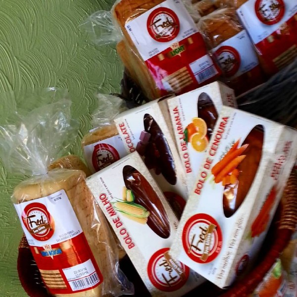 Empório Sem Glúten, loja de produtos sem glúten Kit da Fred, pães sem glúten