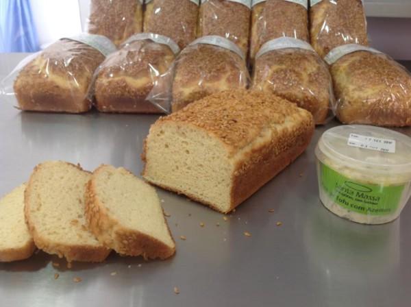 DELLA SANTA Sem Glúten, Sem Lactose Pão do Chef com linhaça dourada, sem glúten e sem lácteos