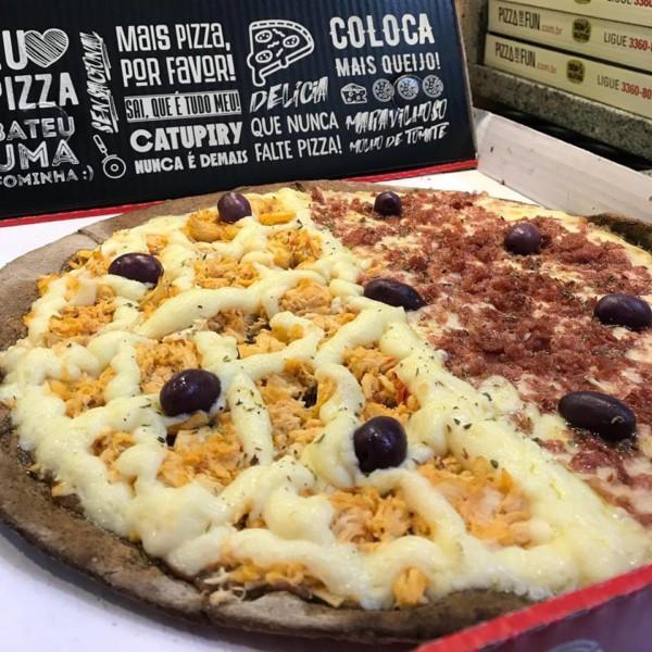 NCG - Pizza For Fun, pizzaria sem glúten e opção sem alérgenos em São Paulo: Não contém glúten
