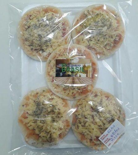 Espaço Brasil Sem Glúten Mini pizzas pronta para delivery sem glúten