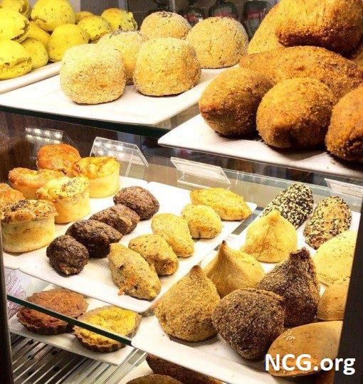 Salgados sem gluten - Padaria sem gluten em Brusque (SC) Carolitas e Nutri Tice Café Saudável - Não Contém Gluten