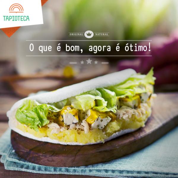 NCG.org - Tapioteca: Tapioca Rio sem glúten / lactose. Não contém glúten