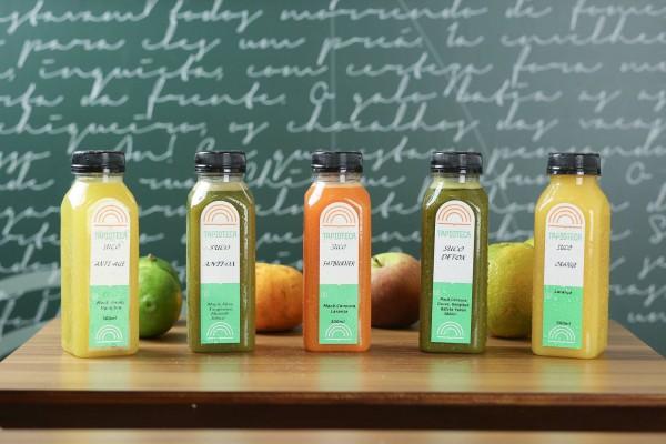 NCG.org - Tapioteca: sucos naturais sem glúten / lactose. Não contém glúten