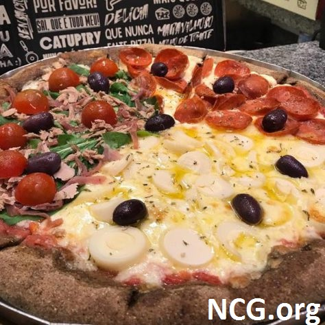 Pizza de três sabores sem glúten - Pizzaria sem glúten / lactose em Tatuapé (SP) Pizza For Fun NCG.org