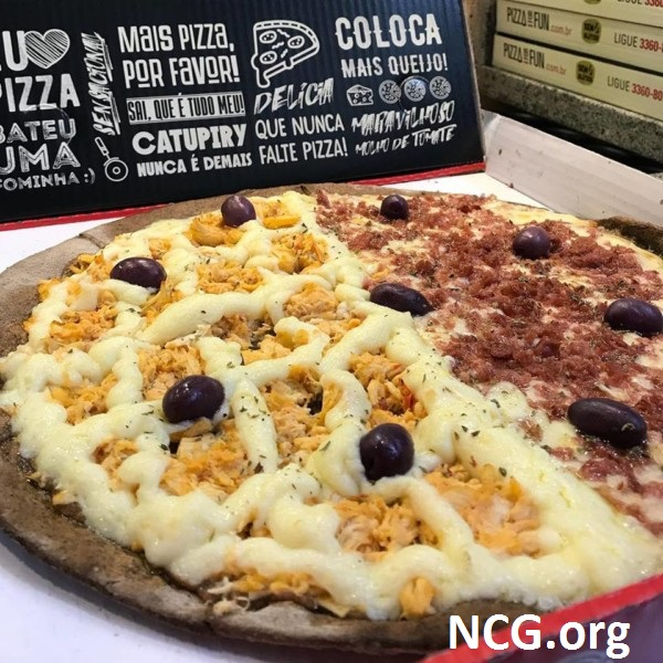 Pizza de frango com catupiry sem glúten - Pizzaria sem glúten / lactose em Tatuapé (SP) Pizza For Fun NCG.org