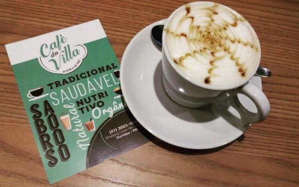 Cafeteria sem glúten e lactose em Curitiba (PR) Café da Villa - NCG.org capuccino sem glúten e lactose. Não contém glúten