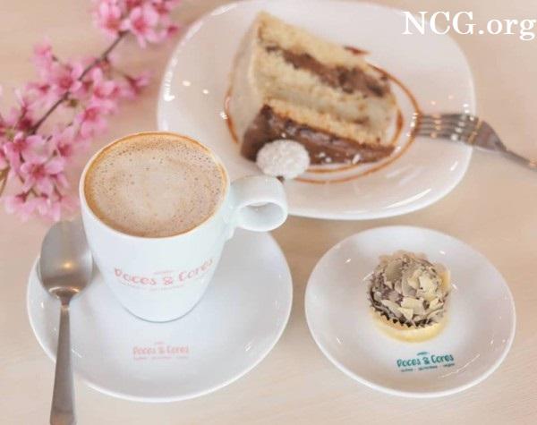 Bolo com café sem gluten - Confeitaria sem gluten em Curitiba (PR) Doces & Cores - Não Contém Gluten