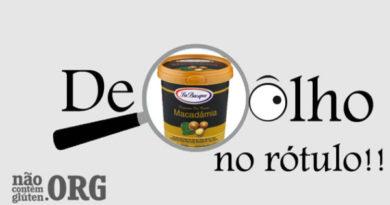 Fabricante de sorvete anuncia mudar a rotulagem para CONTÉM GLÚTEN. NCG.org