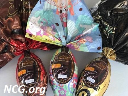 Ovo de páscoa sem gluten da Ouro Moreno - Lista de ovo de páscoa sem gluten - NaoContemGluten.ORG
