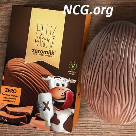 Ovos de páscoa sem gluten e sem leite da ZeroMilk - Lista de ovo de páscoa sem gluten - NaoContemGluten.ORG