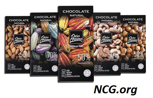 Ouro Moreno barras de chocolate sem gluten - Chocolate Ouro Moreno tem gluten ?? Veja a resposta do SAC -NaoContemGluten.ORG