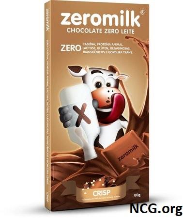 Tablete de chocolate crisp sem gluten e sem leite - Chocolate ZeroMilk tem gluten ?? Veja aqui a resposta do SAC - Não Contém Gluten