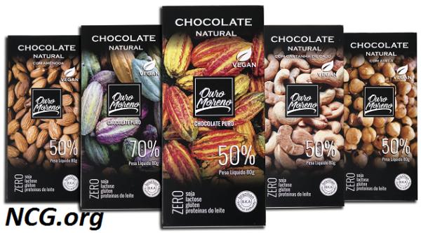 Chocolate Ouro Moreno tem gluten ?? Veja a resposta do SAC