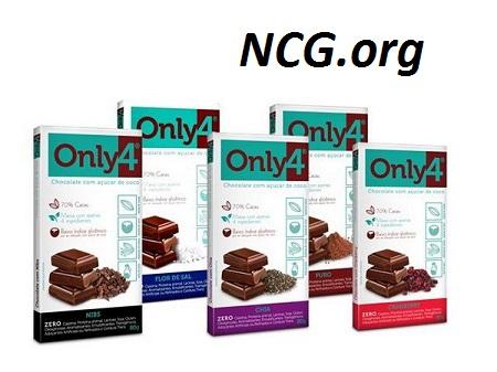 Tabletes only4 sem gluten - Chocolate Only4 tem gluten ?? Veja explicação do SAC - Não Contém Gluten