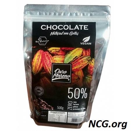 Ouro Moreno chocolate em gotas sem gluten - Chocolate Ouro Moreno tem gluten ?? Veja a resposta do SAC -NaoContemGluten.ORG