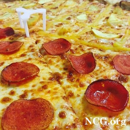 Pizza meio a meio sem gluten - Pizzaria sem gluten em São Paulo (SP) Sky Food Pizza - Não Contém Gluten