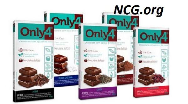 Chocolates Only4 : Chocolate sem gluten e leite !! Veja explicação do SAC