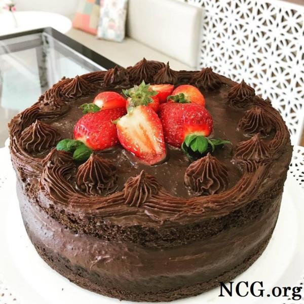 Torta naked cake sem gluten - Confeitaria sem gluten em Chapecó (SC) Gunas Cake - Não Contém Gluten