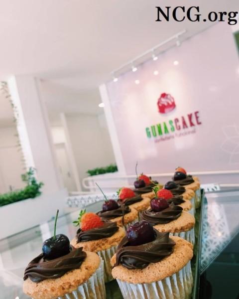 Cupcake vegano sem gluten - Confeitaria sem gluten em Chapecó (SC) Gunas Cake - Não Contém Gluten